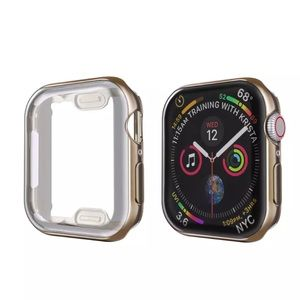 NEW Apple Watch Protective Bumper Case Dark Gold